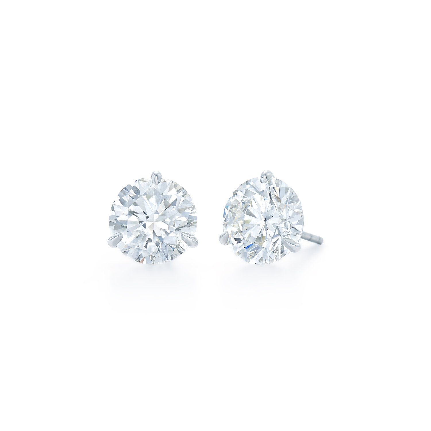 Kwiat Diamond Studs 5 02 Cts J Color Vs2 Si1 Clarity