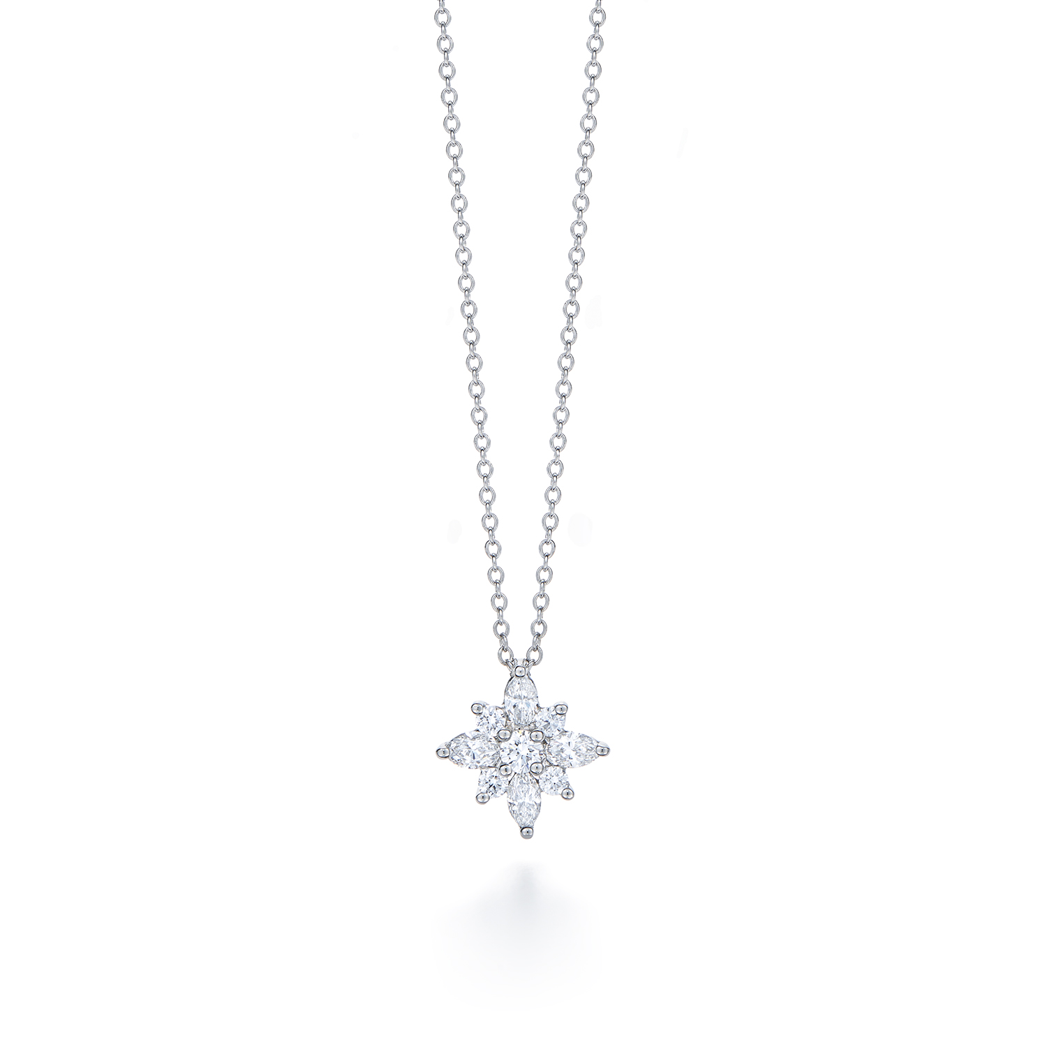 Diamond pendant in kwiat star pendant style 16992 kwiat kwiat star pendant diamond aloadofball Image collections