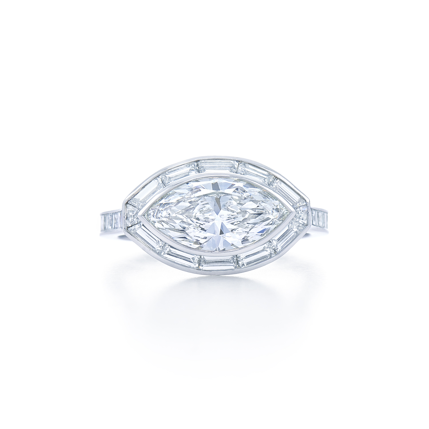 floating a platinum diamond bagbesd kwiat elegant solitaire cushion with rings basket in signature ring