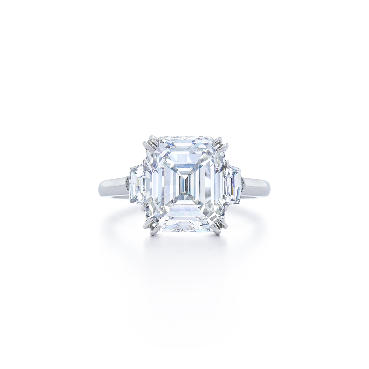 plat solitaire with set rings diamond oval jewelry engagement kwiat band pave style ring in platinum