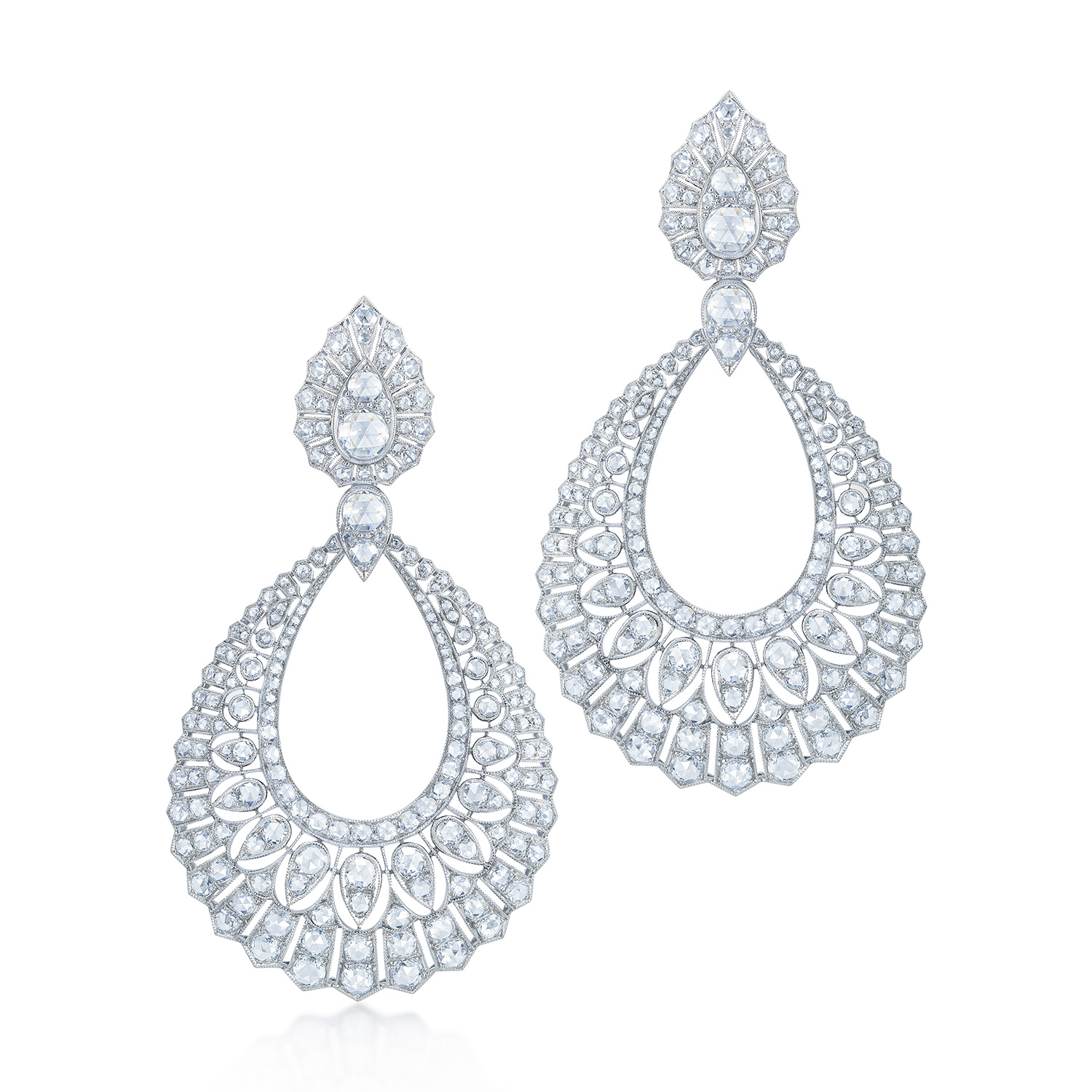 Kwiat Vintage Earrings Diamond